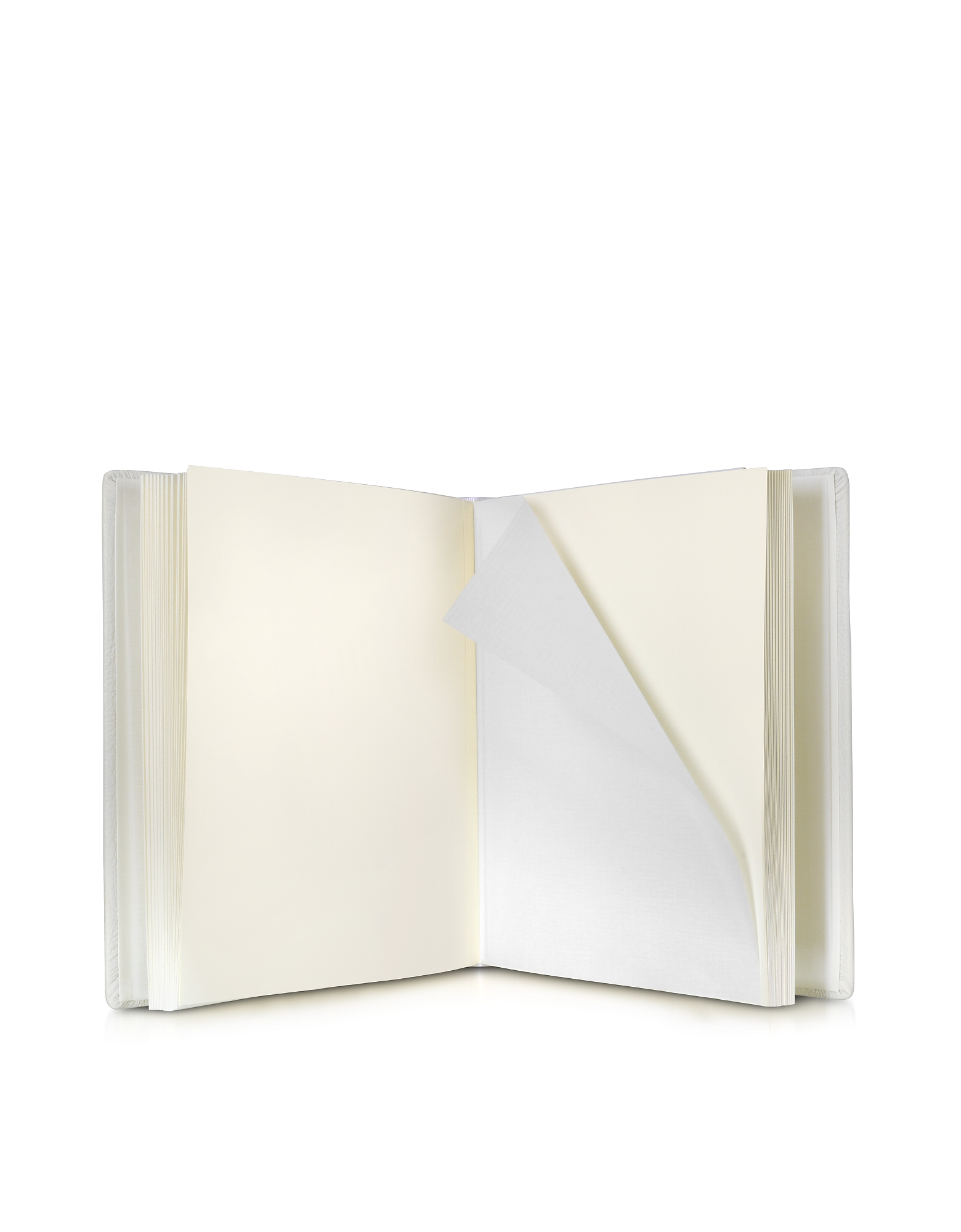 Medium Ivory Leather Wedding Photo Album от Forzieri.com INT