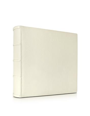 Large Ivory Leather Wedding Photo Album