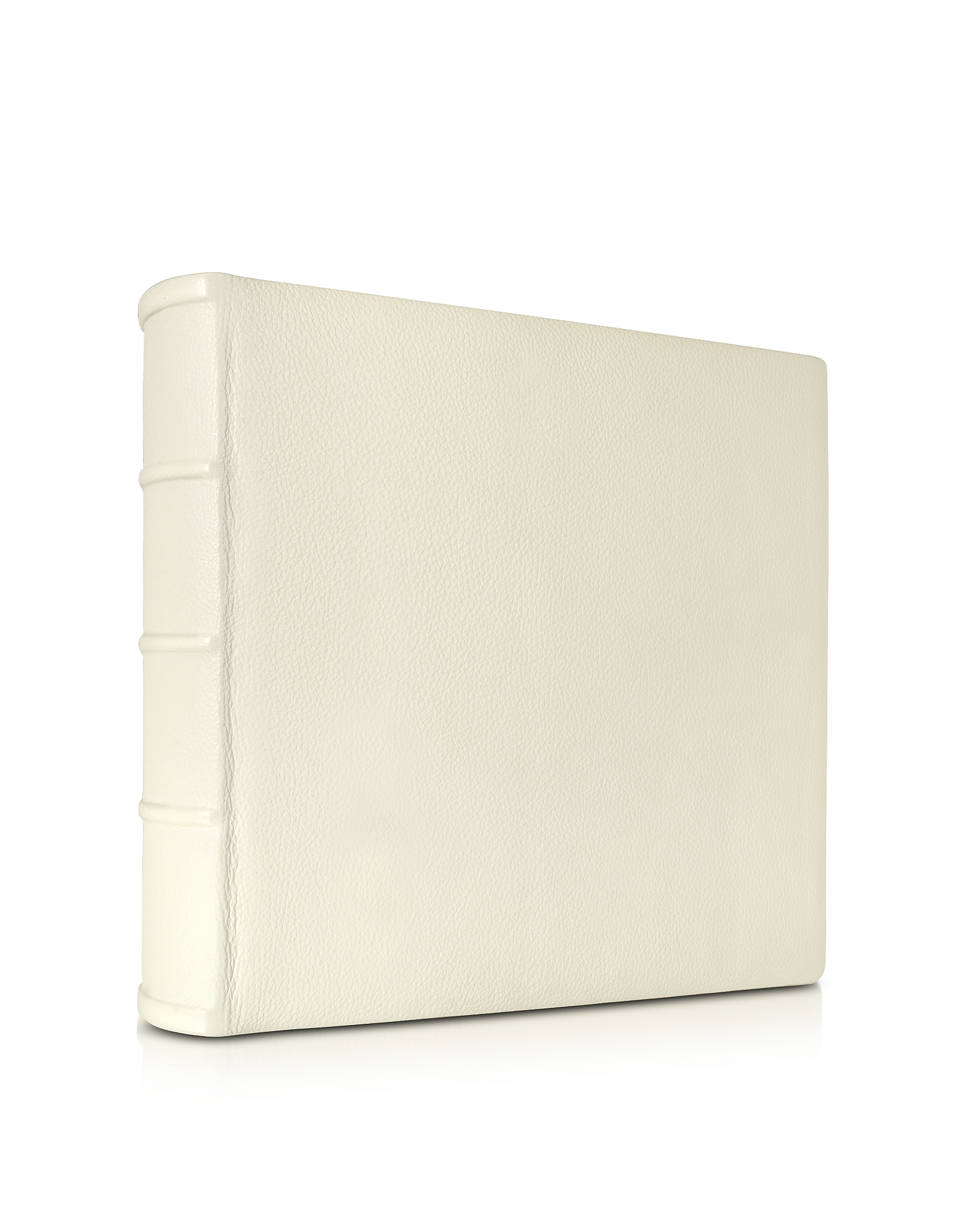 Large Ivory Leather Wedding Photo Album