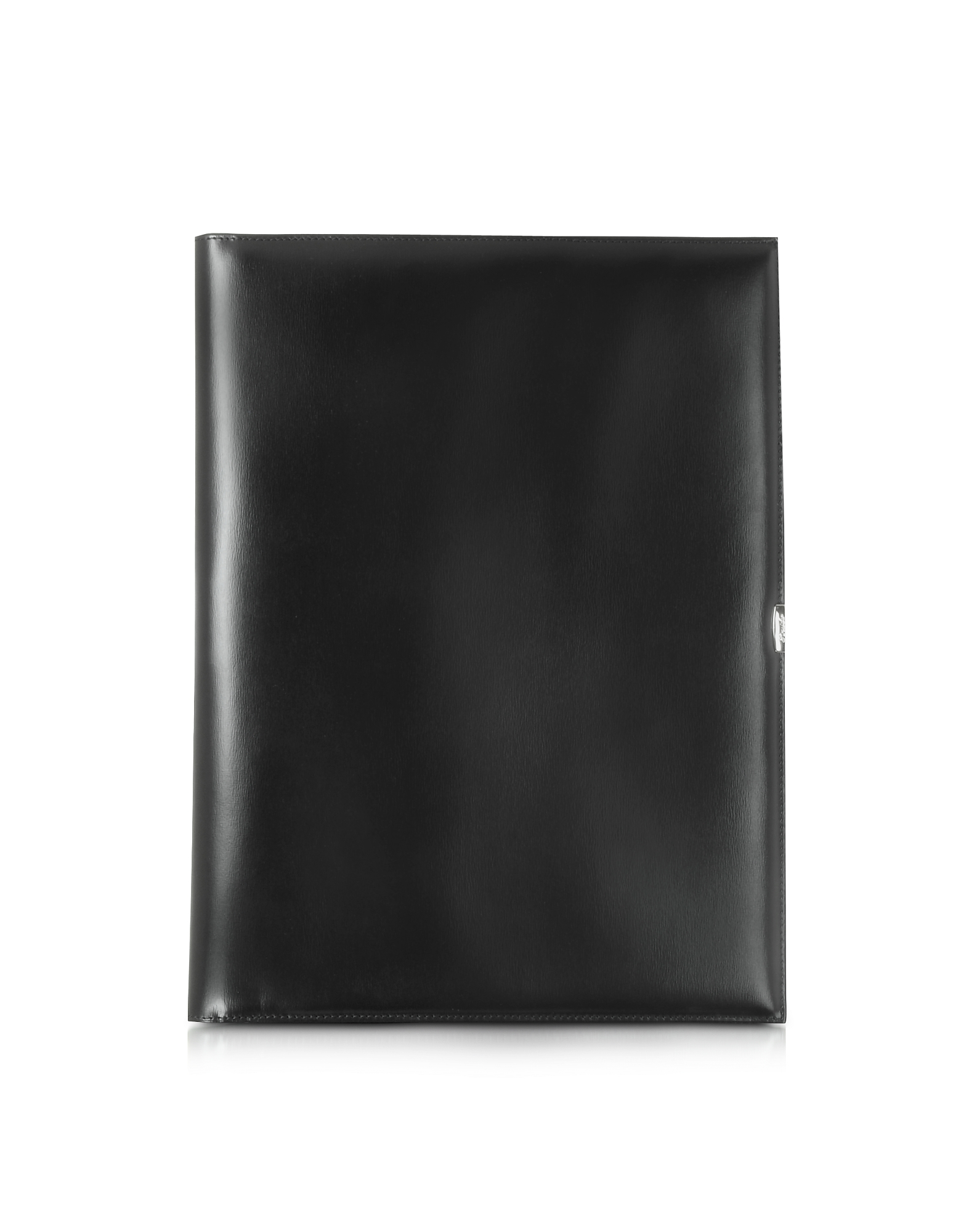 Pineider Designer Desk Accessories, 1949 A4 Black Leather Notepad Holder pn380016-005-00