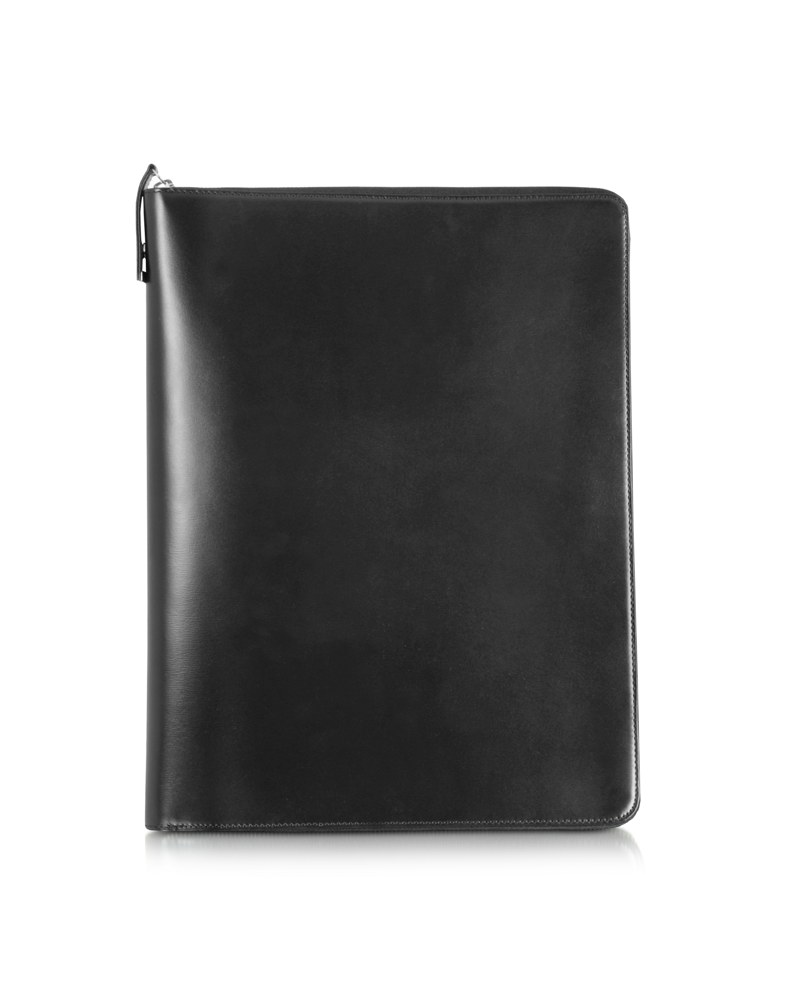 Image of 1949 A4 Black Leather Notepad Holder w/Zip