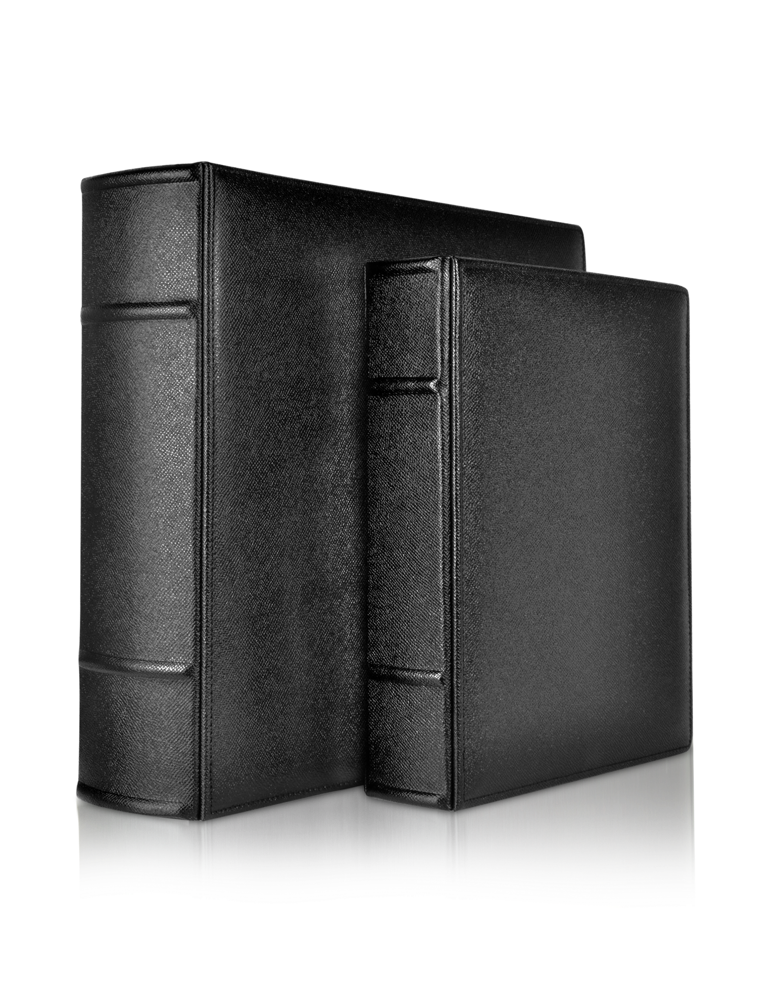 Image of City Chic - Black Grained Calf Leather Photo Album