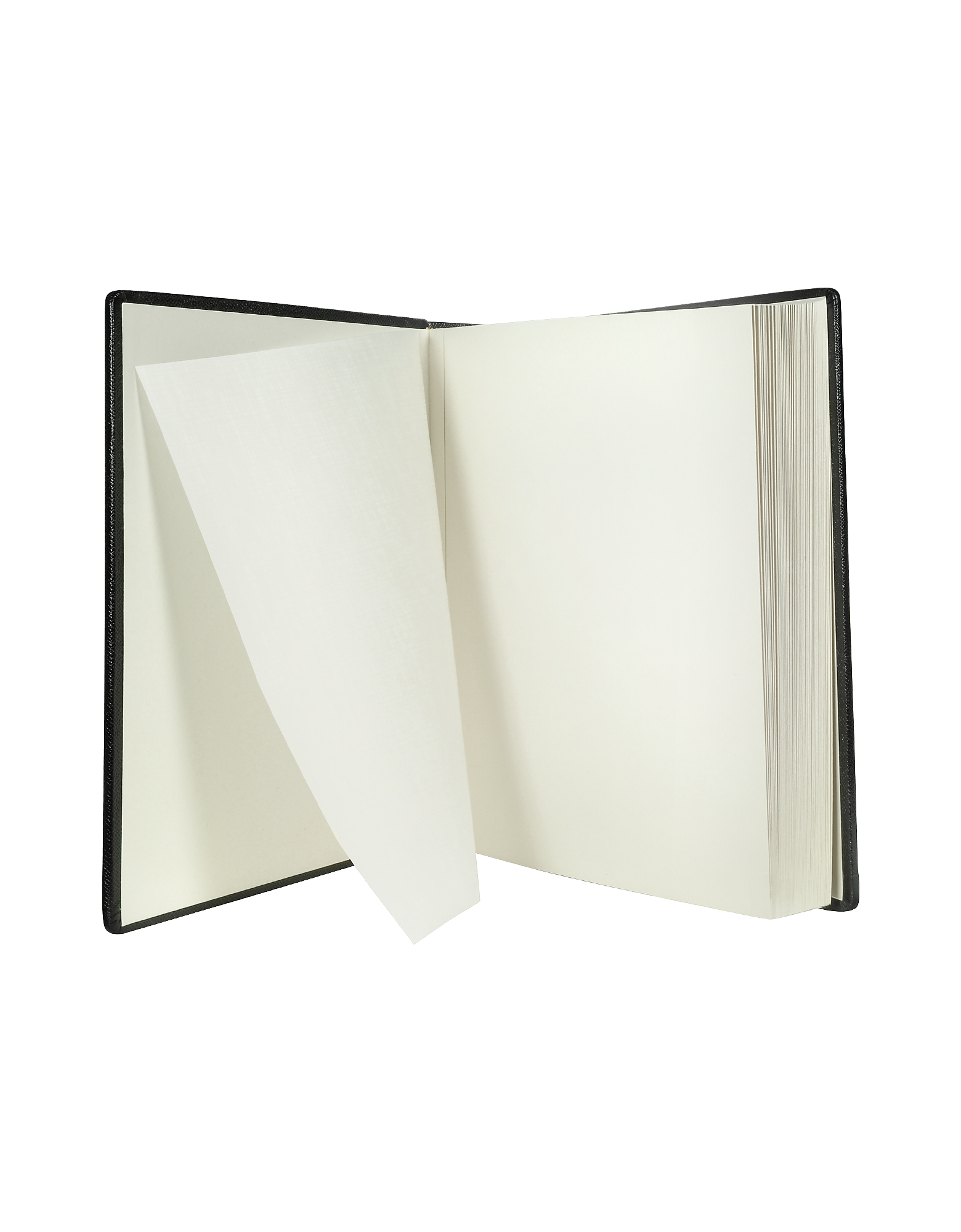 City Chic - Black Grained Calf Leather Photo Album от Forzieri.com INT