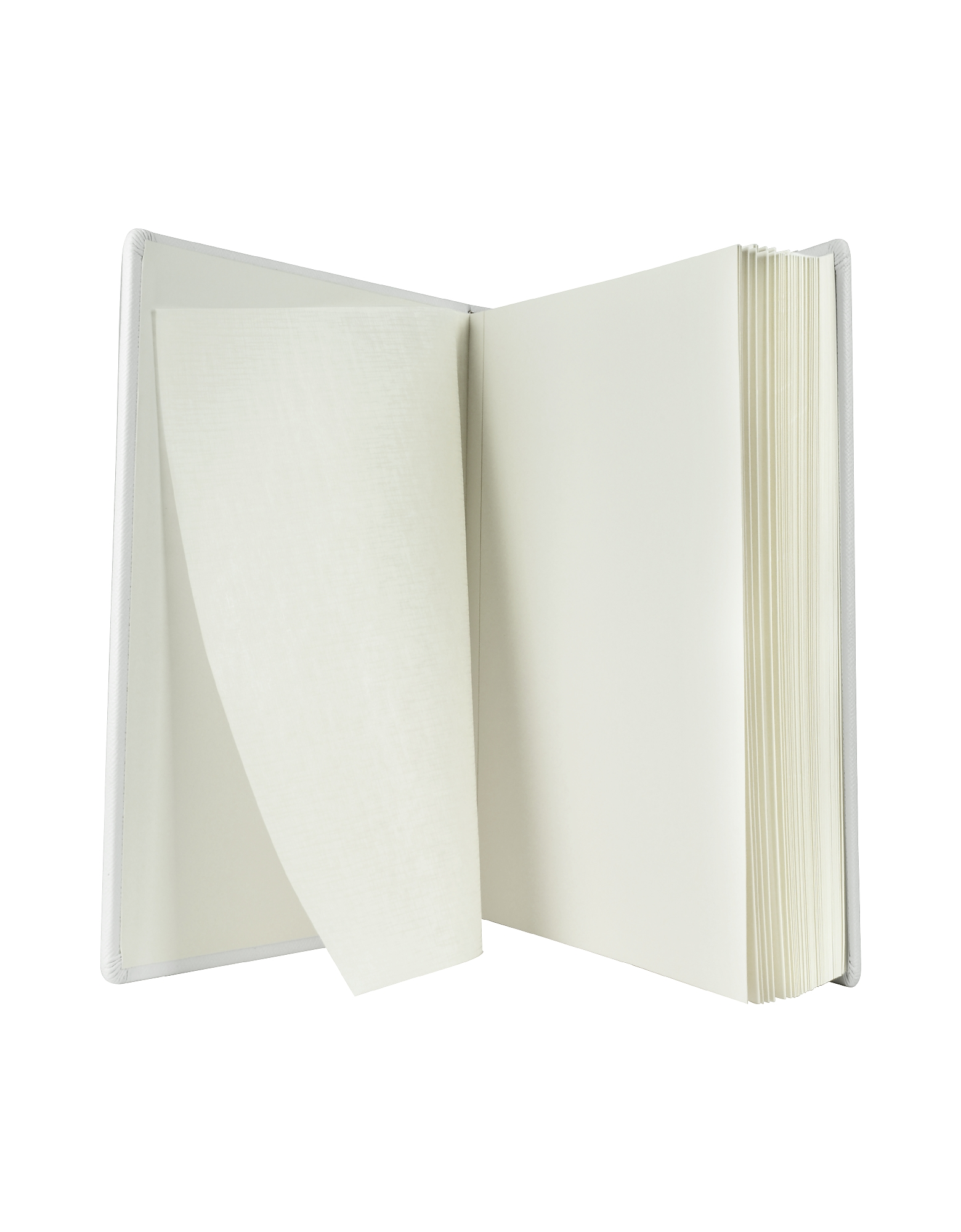 City Chic - White Grained Calf Leather Photo Album от Forzieri.com INT