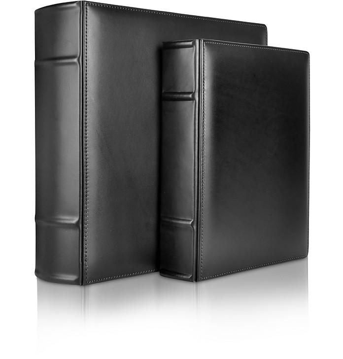 Power Elegance - Black Calf Leather Photo Album - Pineider