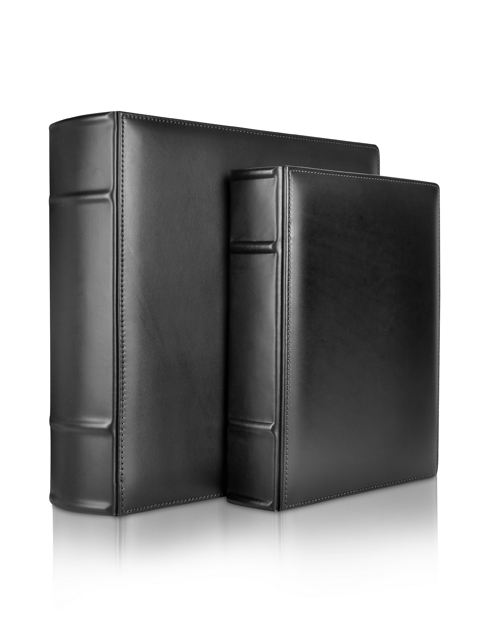 Pineider Picture Frames & Albums, Power Elegance - Black Calf Leather Photo Album