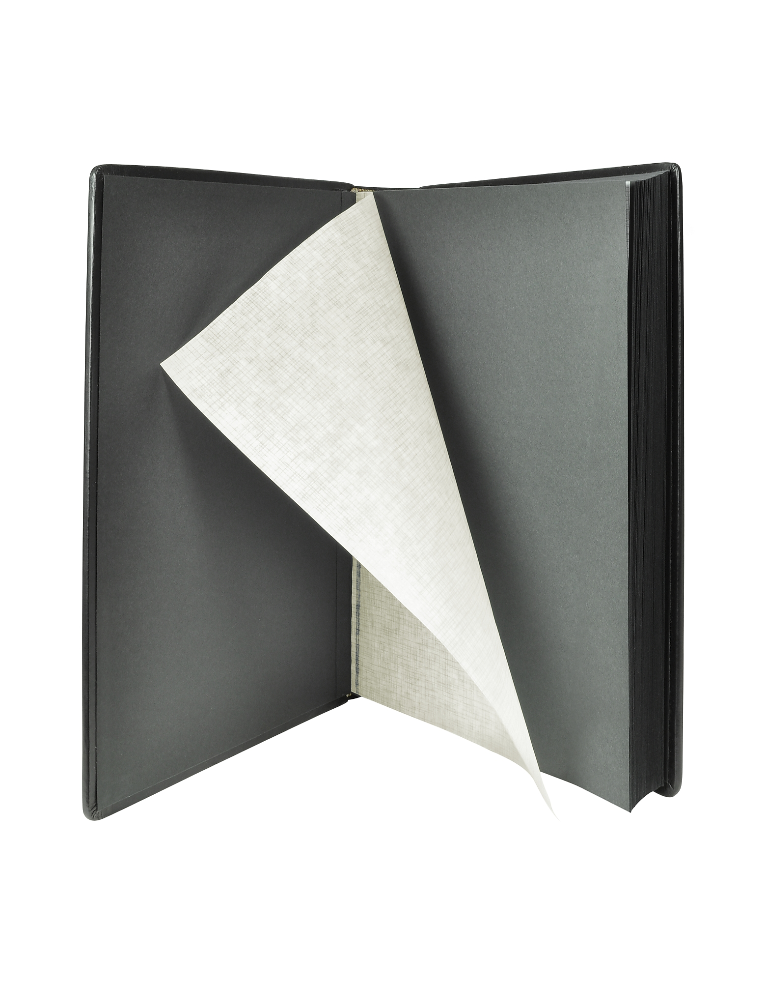 Power Elegance - Black Calf Leather Photo Album от Forzieri.com INT