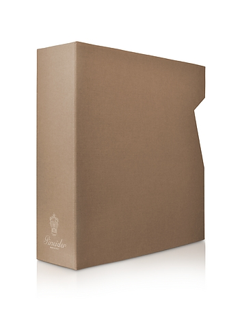 Power Elegance -  Taupe Large Photo Album Case