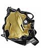 New Nappa - Medium Black Drawstring Leather Shoulder Bag - Bric's
