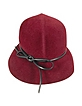 Ladies' Small Felt Cloche with Ribbon - Del Moro