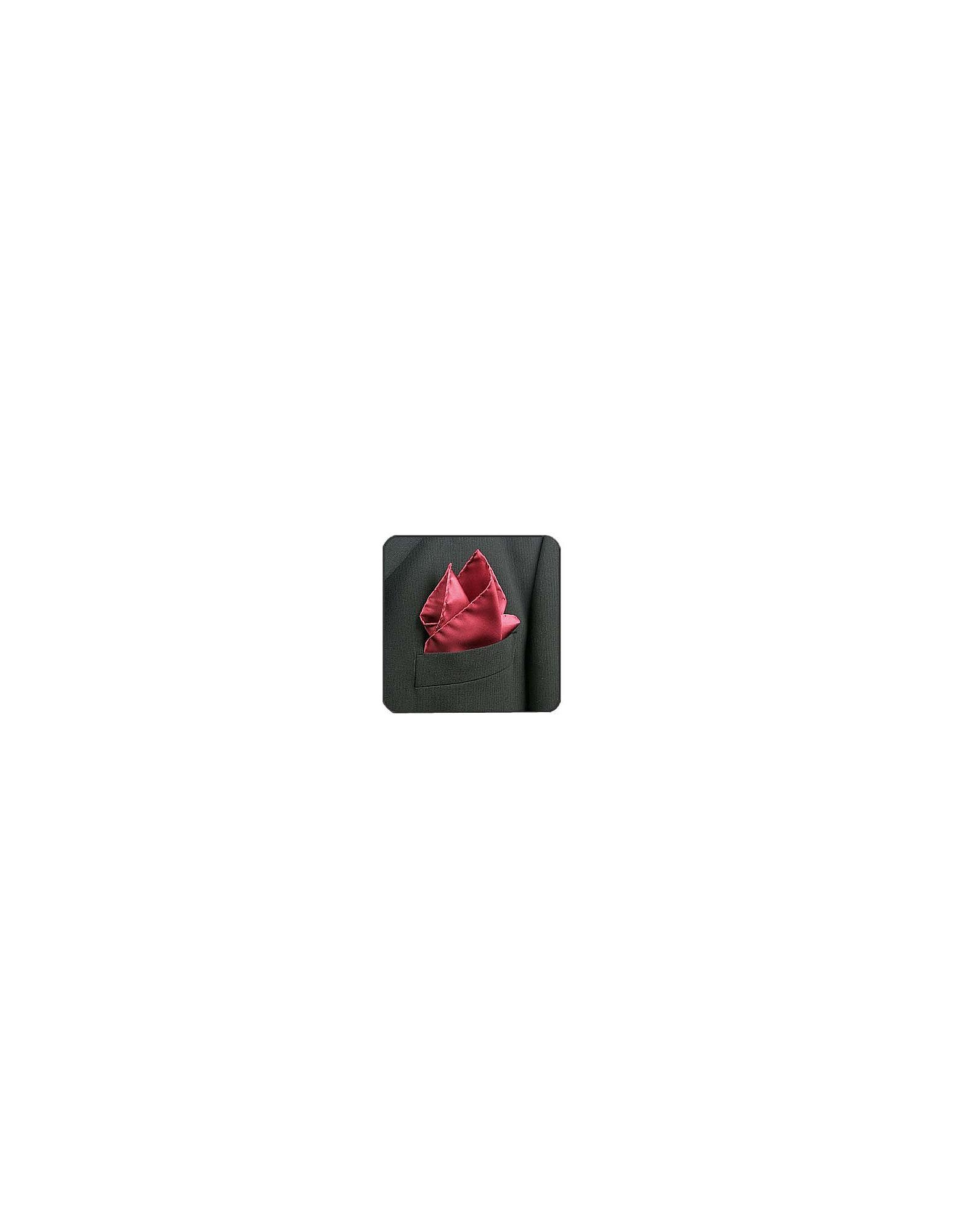 Cranberry Silk Pocket Square от Forzieri.com INT