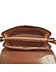 Classic Brown Leather Handbag - Robe di Firenze