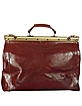 Brown Leather Briefcase - Robe di Firenze