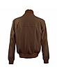 Men's Dark Brown Italian Suede Two-Pocket Jacket - Schiatti & Co.