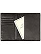 Black Leather Passport Holder - Tavecchi