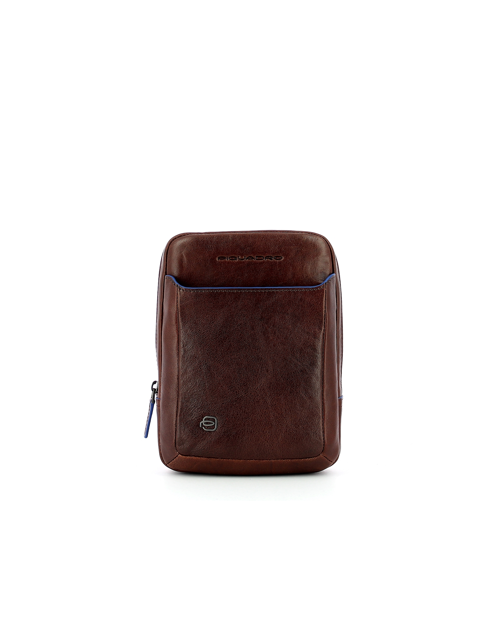 Piquadro Designer Men's Bags, Men's Brown Crossbody Bag