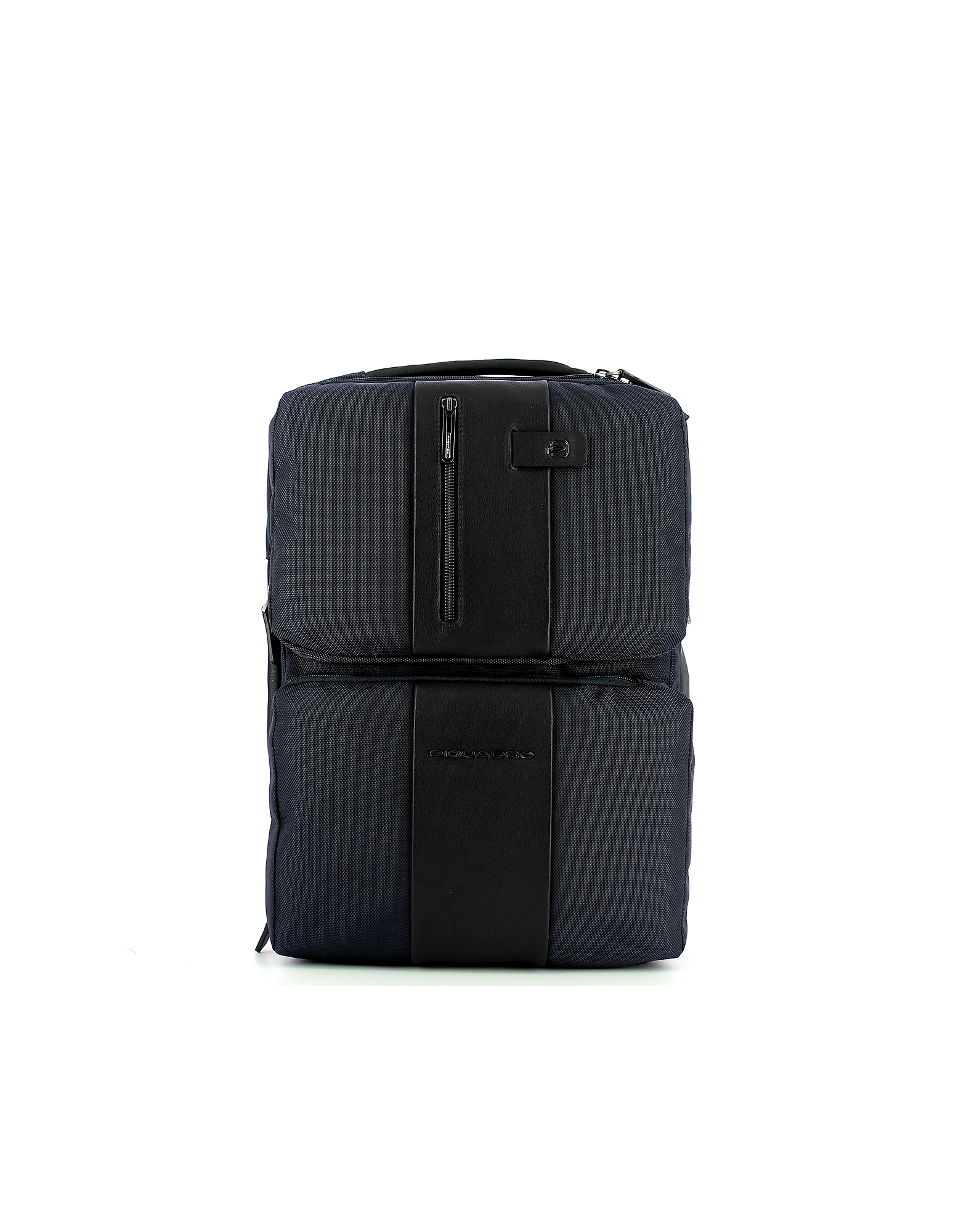 Piquadro Designer Men's Bags, Men's Blue Backpack