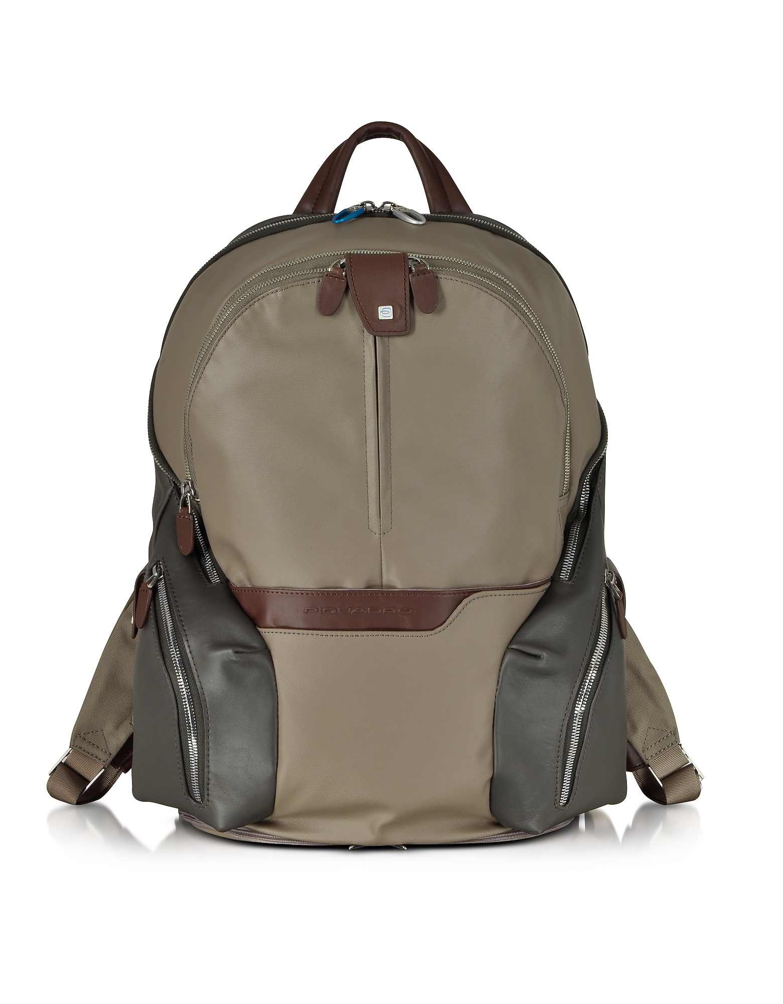 Piquadro Backpacks, Nylon & Leather Computer Backpack