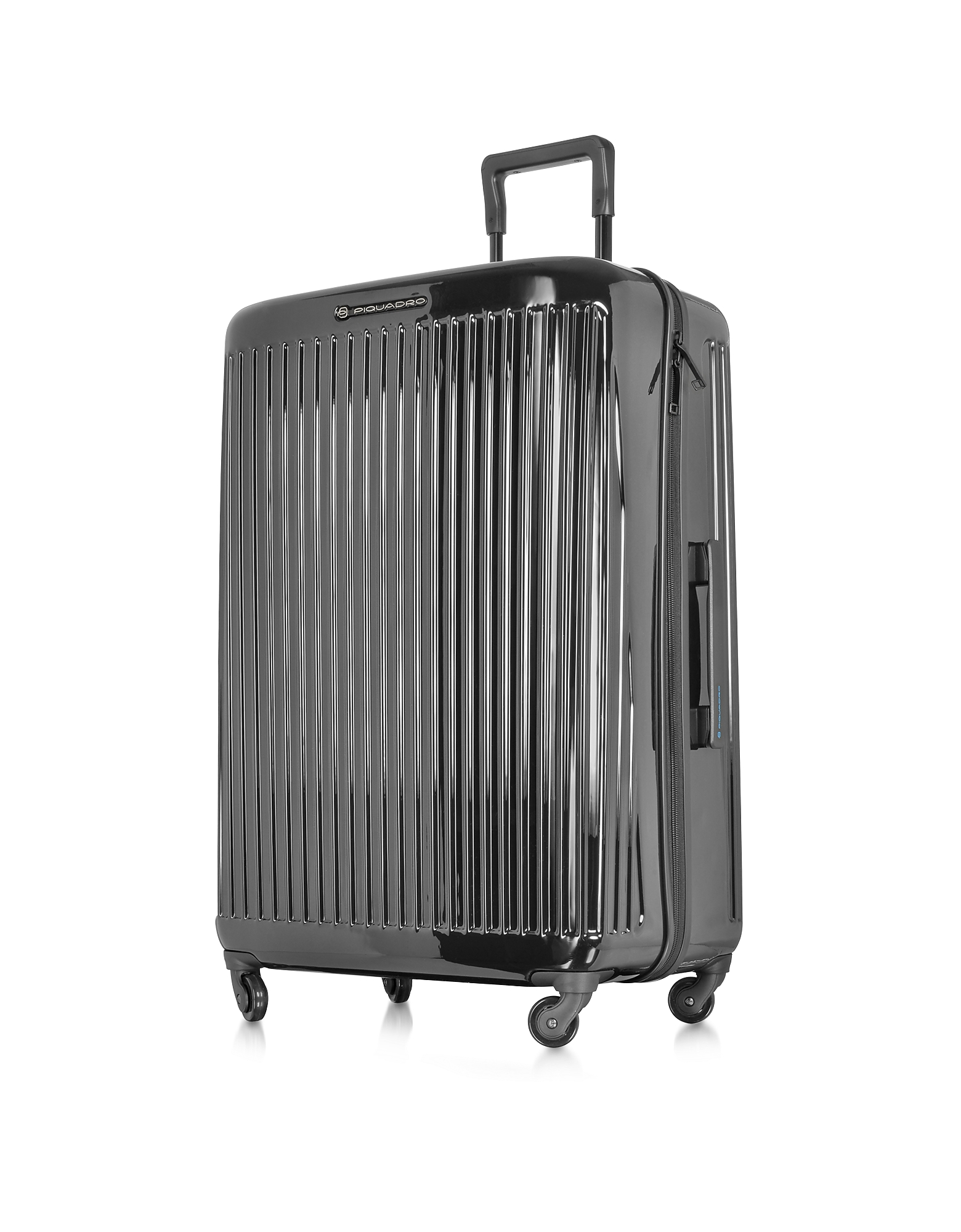 Piquadro Travel Bags, Relyght Graphite Polycarbonate Trolley