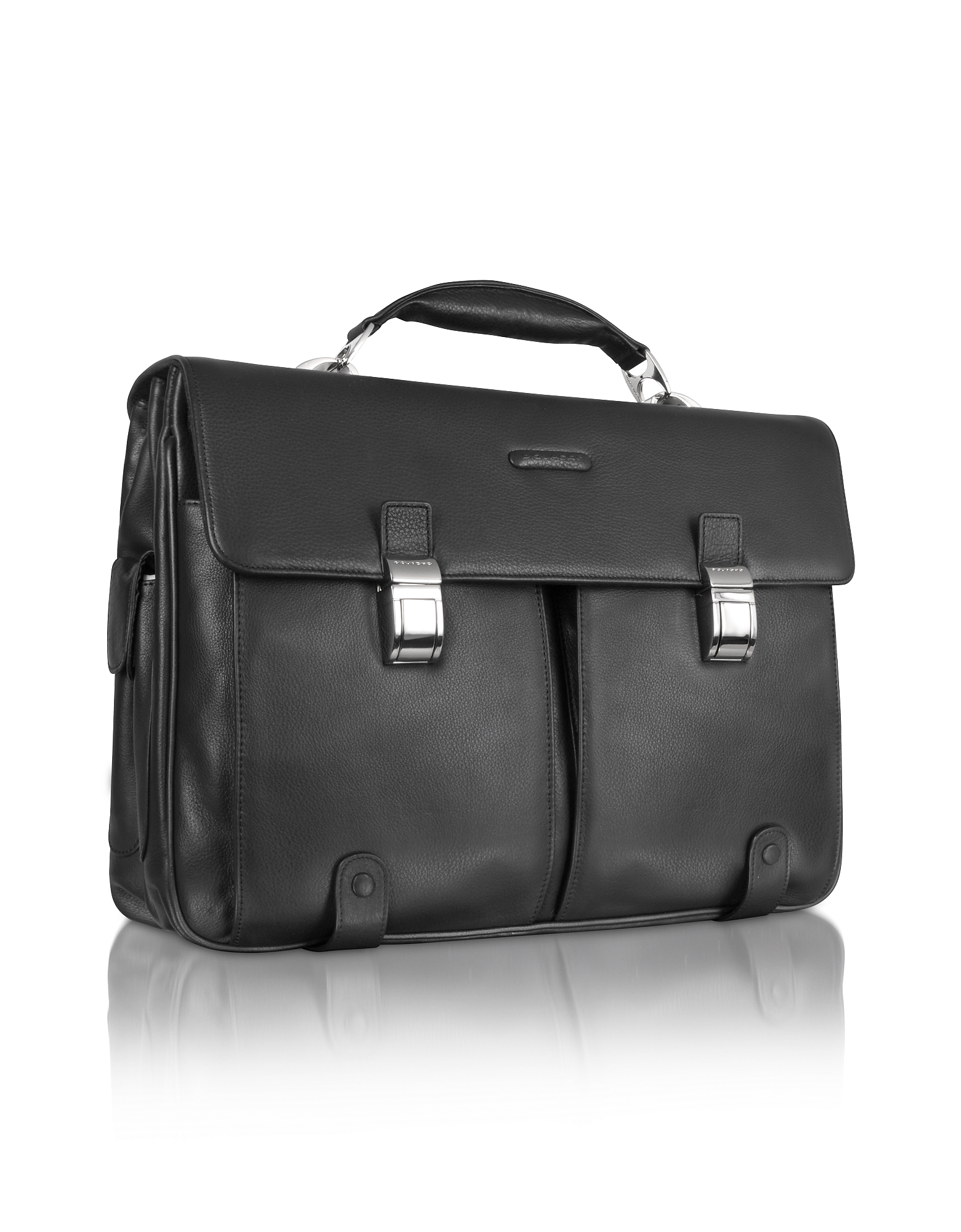 Piquadro Briefcases, Front Pocket Laptop Briefcase