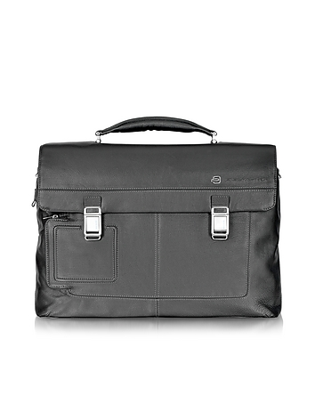 Piquadro - Vibe - Front Pocket Laptop & i-Pad Briefcase