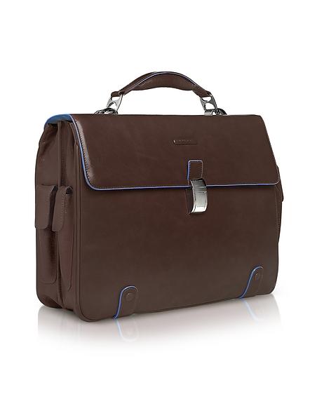 Piquadro Blue Square - Laptoptasche aus Leder