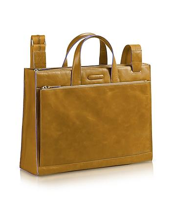 Piquadro - Blue Square - Leather Business Bag