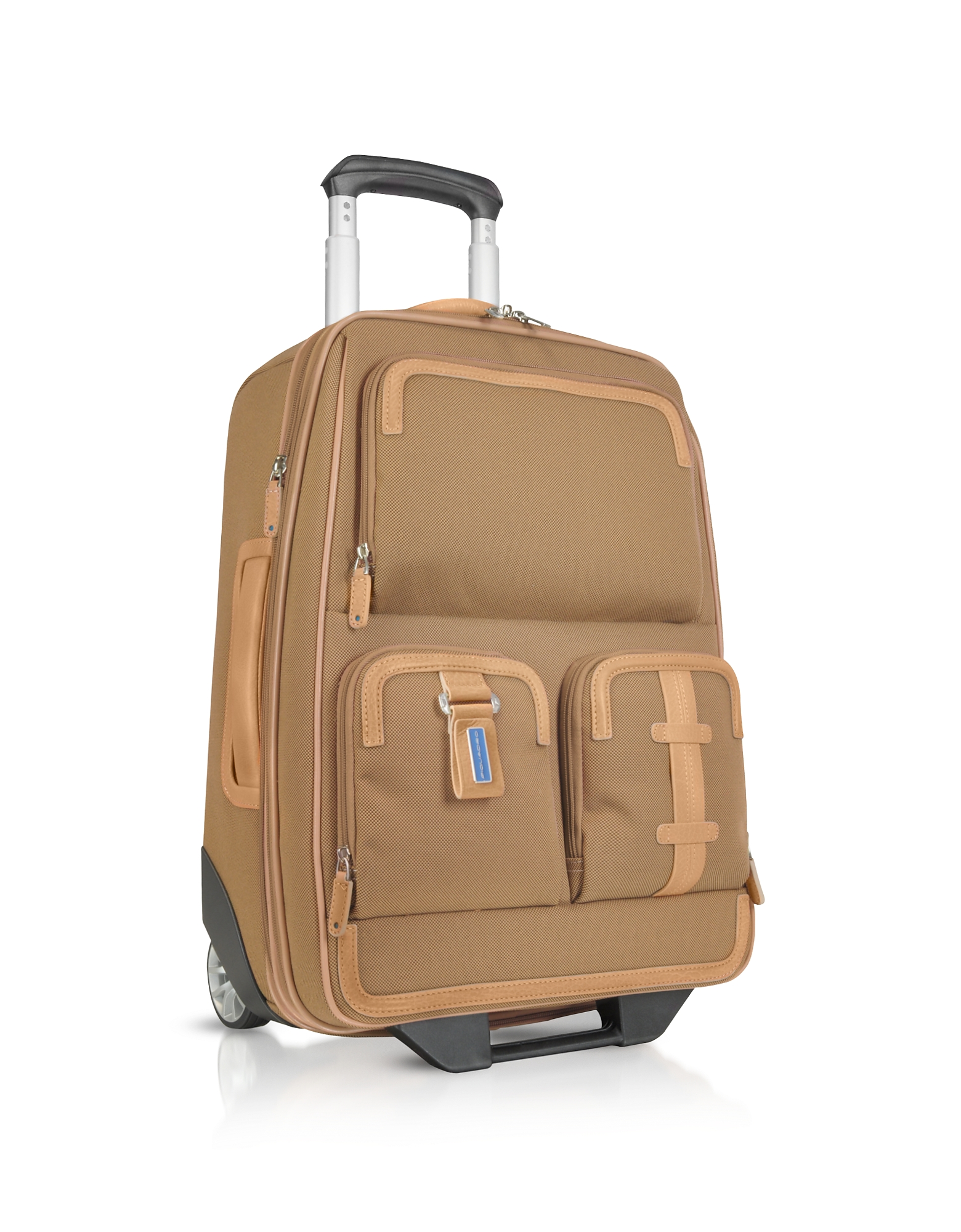 Image of Piquadro Designer Travel Bags, Land - Carry-on Trolley
