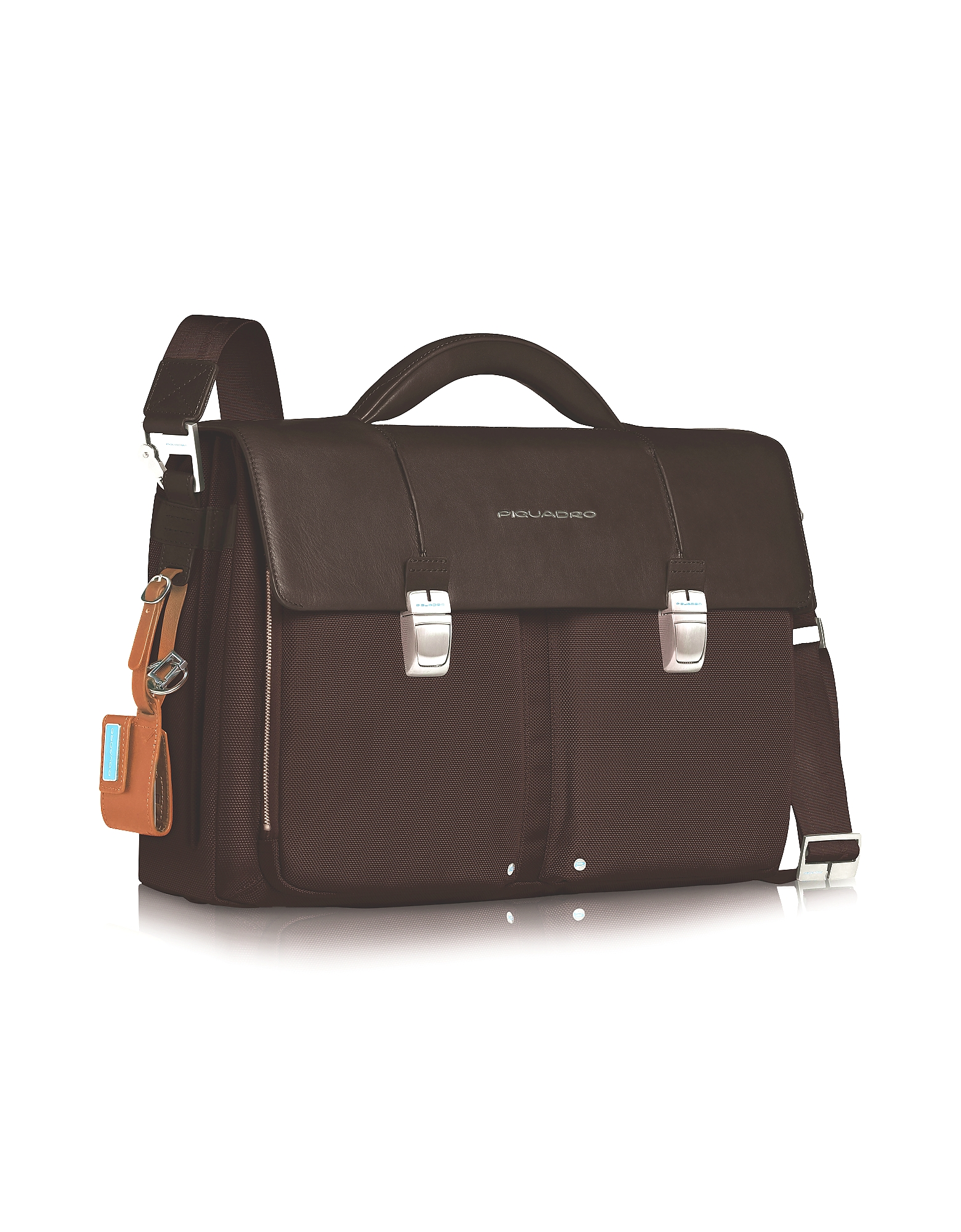 Piquadro Briefcases, Link - Double Front Pocket Double Gusset 15