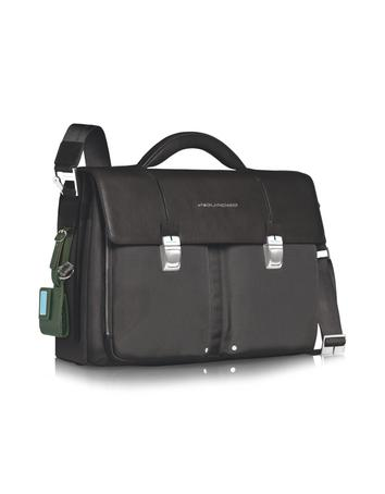 Link - Double Front Pocket Double Gusset 15'' Laptop Briefcase