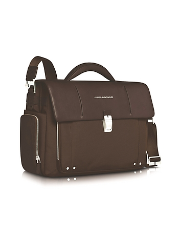 Link - Front Pocket Double Gusset 15 Laptop Briefcase