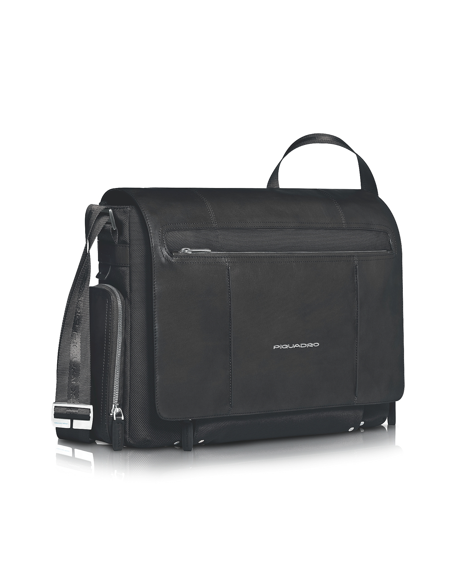 "Piquadro Briefcases, Link - 15"" Laptop Messenger Bag"