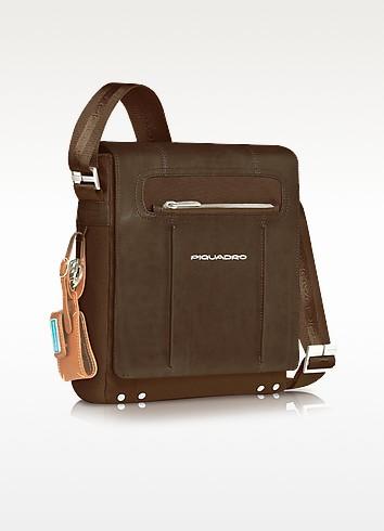 Link - Vertical Messenger Bag - Piquadro