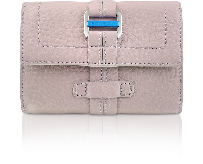 Land - Leather Flap Wallet  - Piquadro