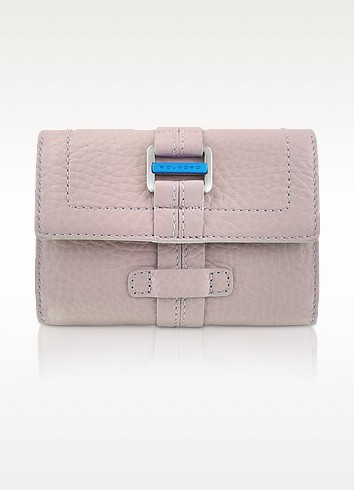 Land - Leather Flap Wallet  - Piquadro