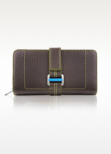 Land - Women Zip Around Wallet  - Piquadro