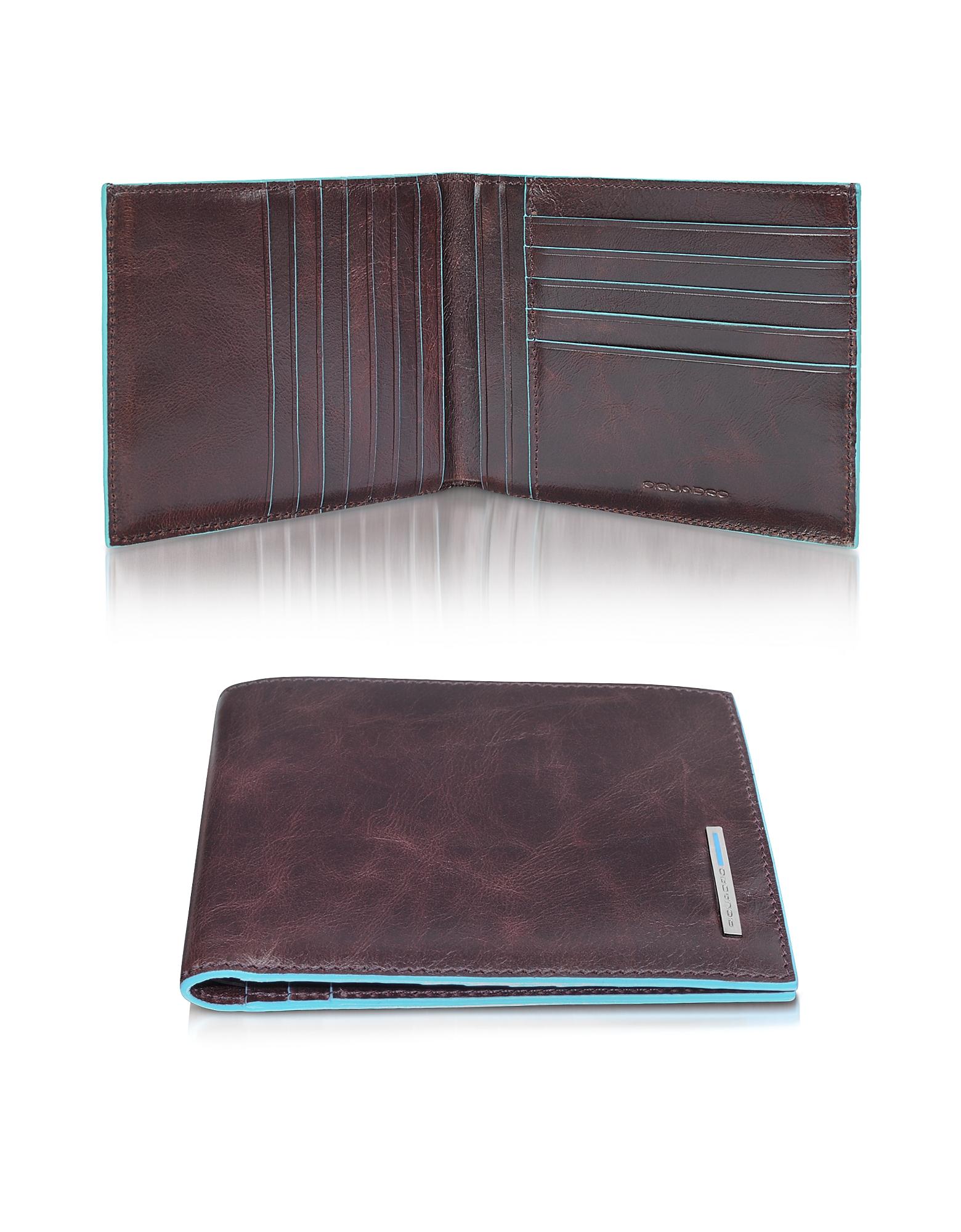 Blue Square - Бумажник из Натуральной Кожи