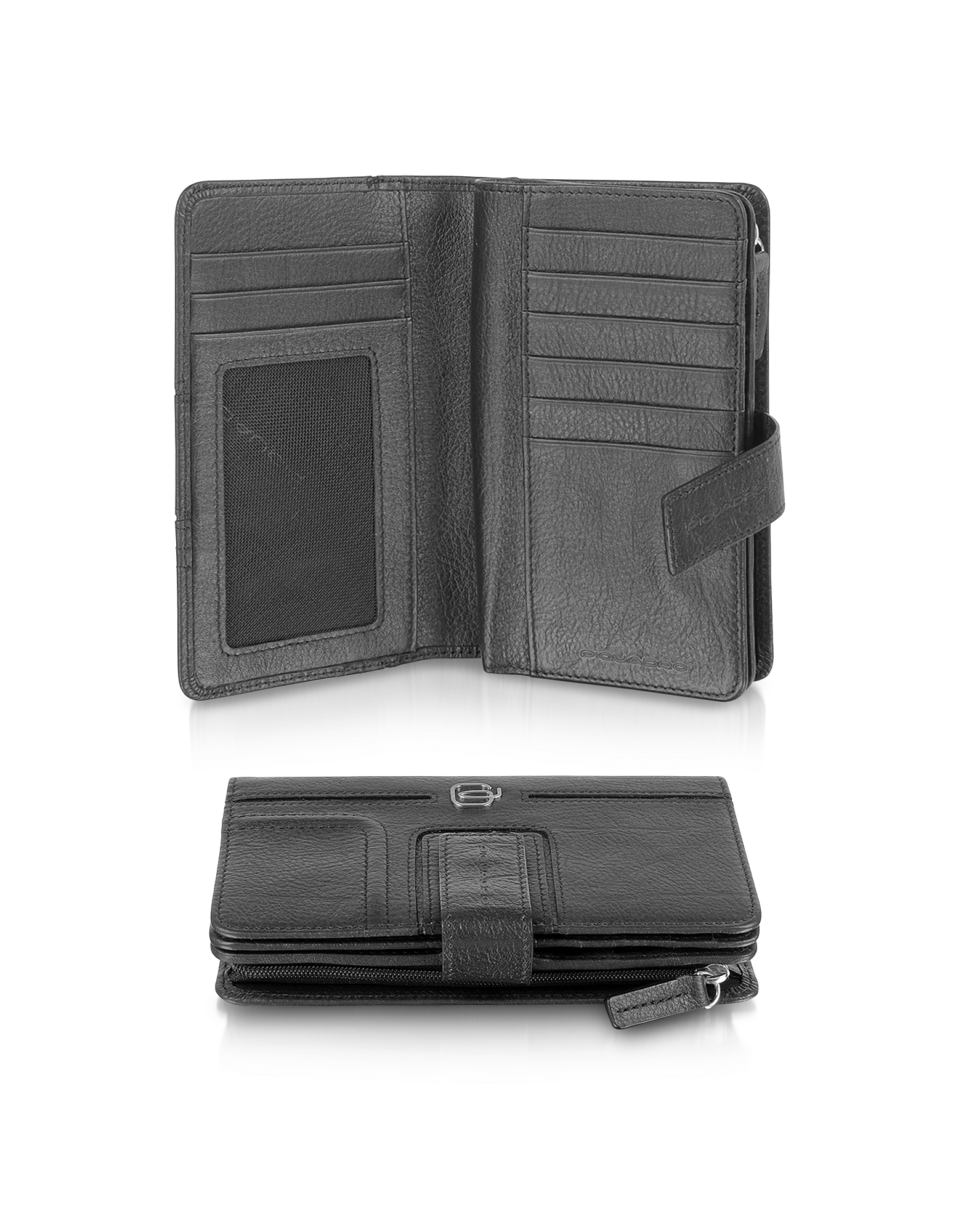 Piquadro Wallets, Vibe - Leather Flap Wallet