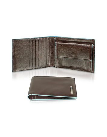Piquadro - Blue Square-Men's Billfold Leather Wallet