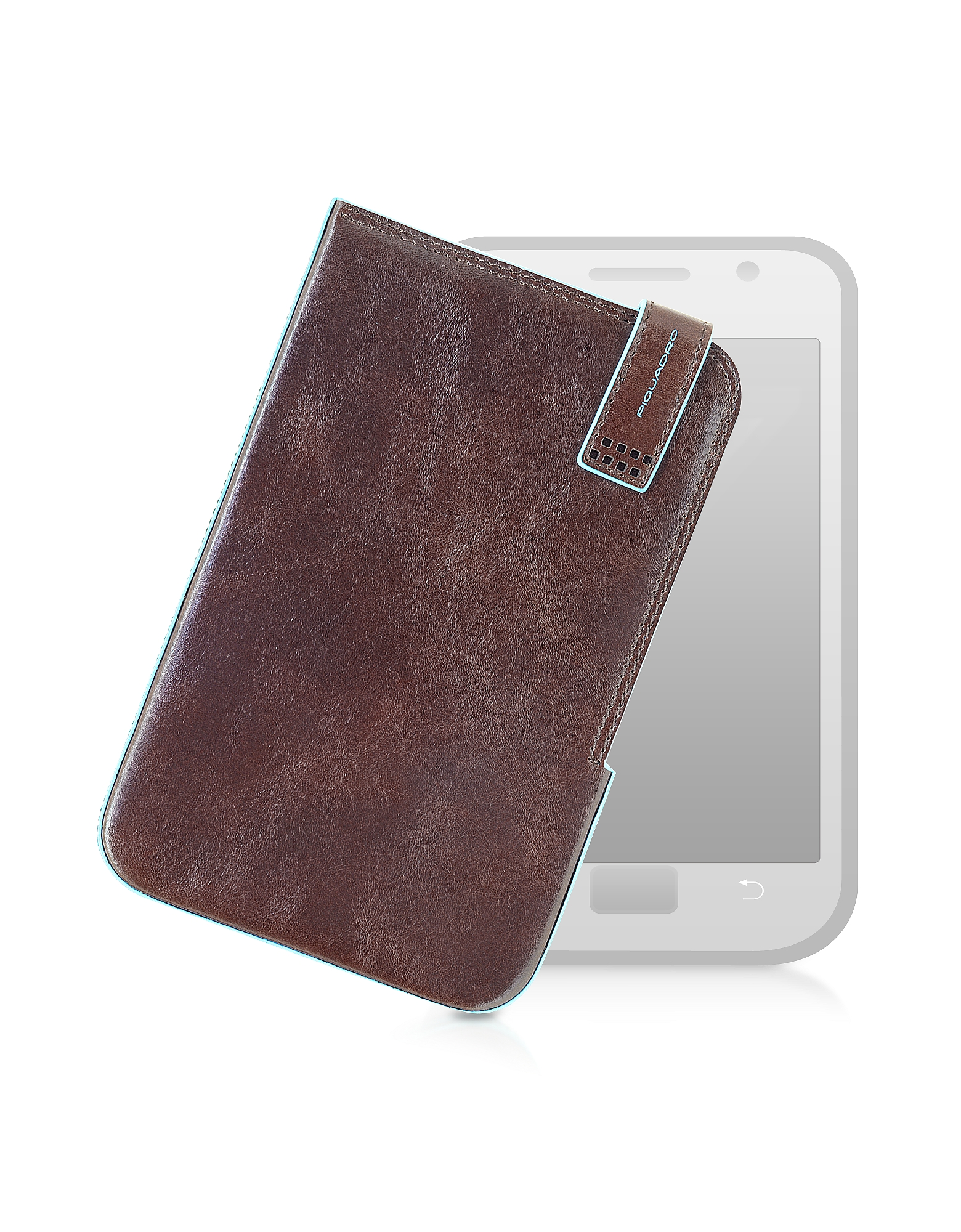 Image of Piquadro Designer Small Leather Goods, Leather Tablet Case
