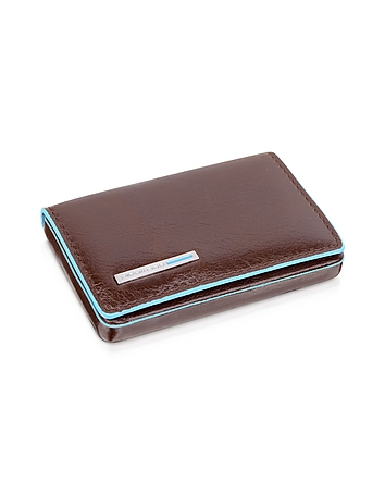 Piquadro - Square Leather Card Case