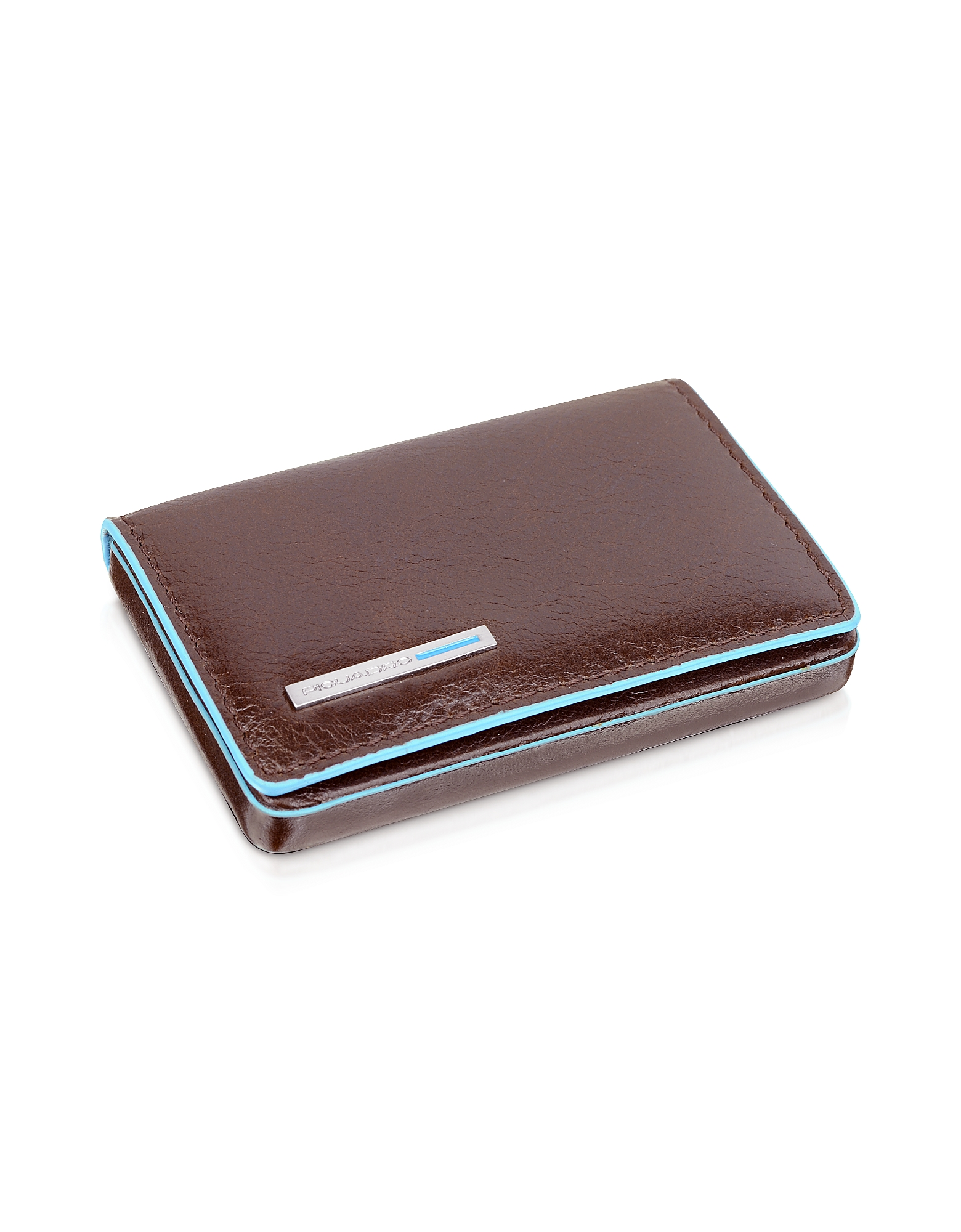 Square Leather Card Case