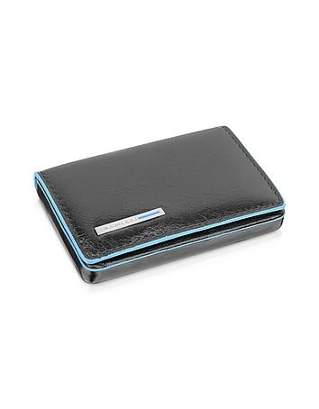 Piquadro - Square Leather Card Case