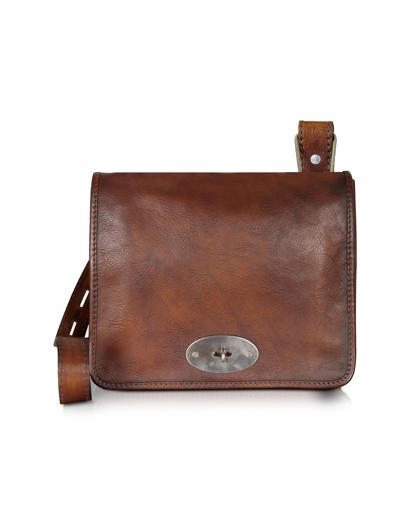 Pratesi Designer Handbags,  Genuine Leather Crossbody Bag