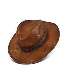 Hut aus echtem Leder - Pratesi