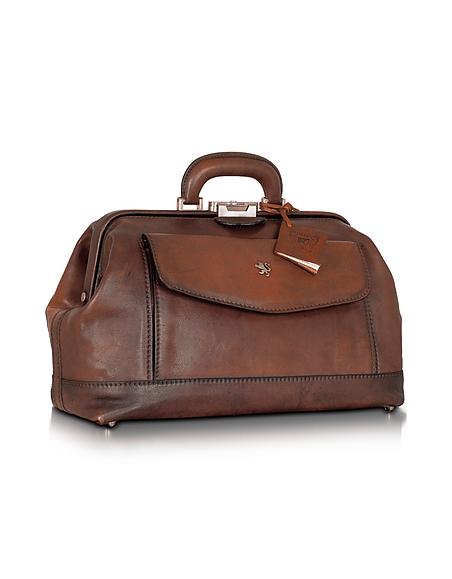 Pratesi Doktor-Tasche aus echtem Leder