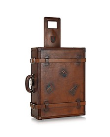 Genuine Leather Suitcase - Pratesi