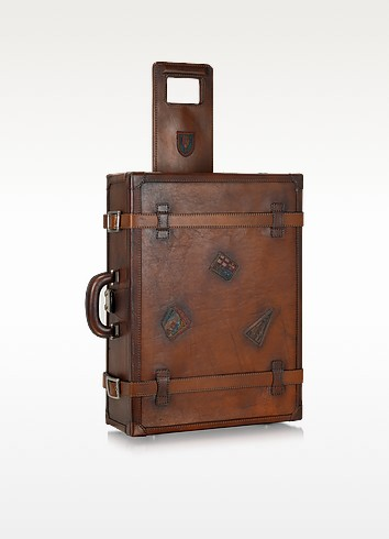 Genuine Leather Suitcase - Pratesi