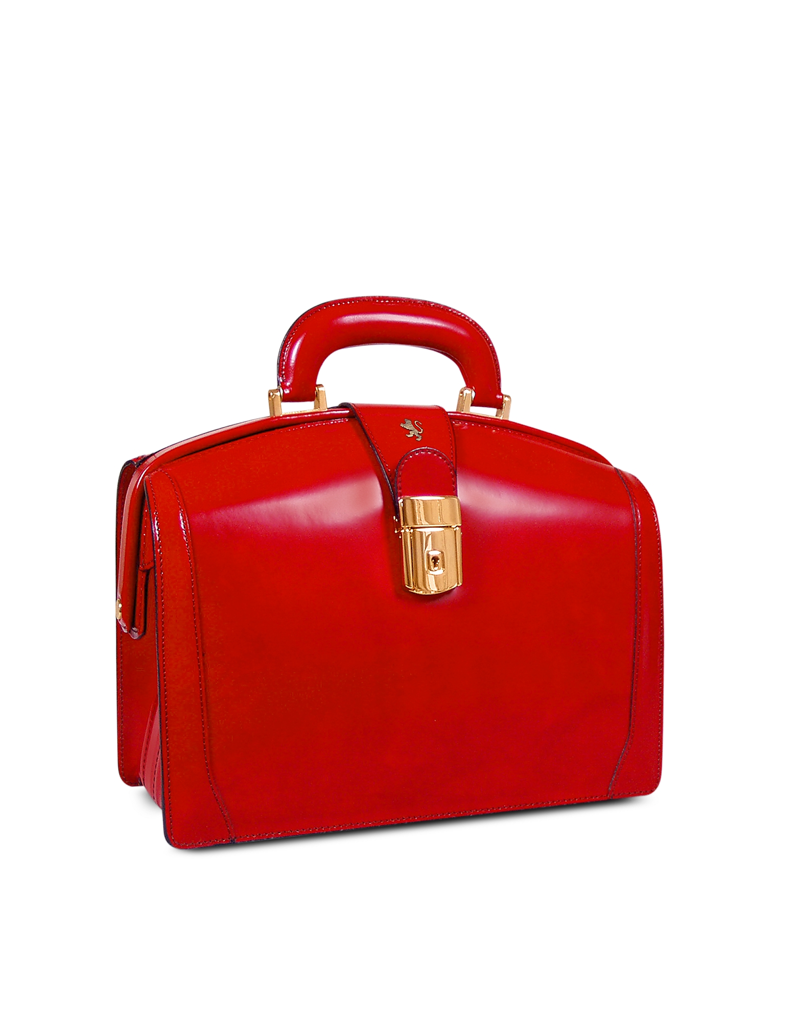 Pratesi Briefcases, Ladies Polished Italian Leather Briefcase