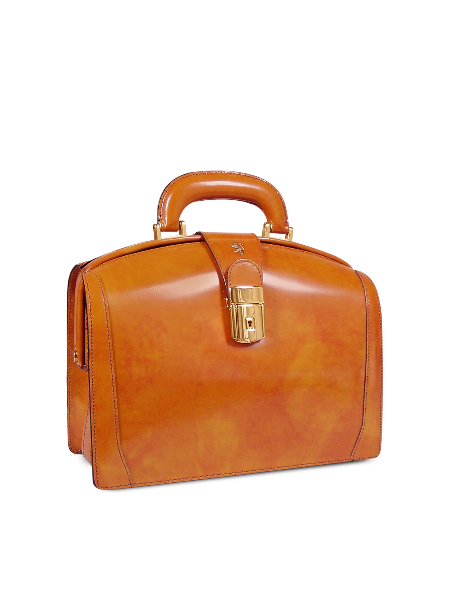 Pratesi Handbags, Ladies Polished Italian Leather Briefcase